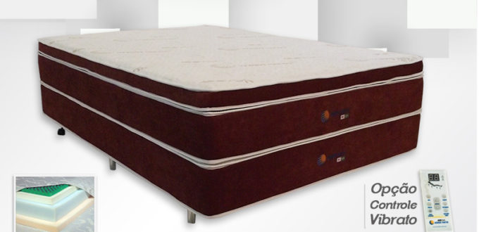 Sleep Pillow Top com Base