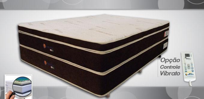 King Pillow Top com Base