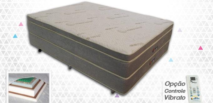 Tradicional Pillow Top com Base